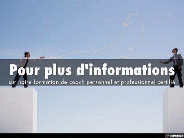 présentation d'Ecole de Coach - formation en coaching à Paris, Rennes et Nice