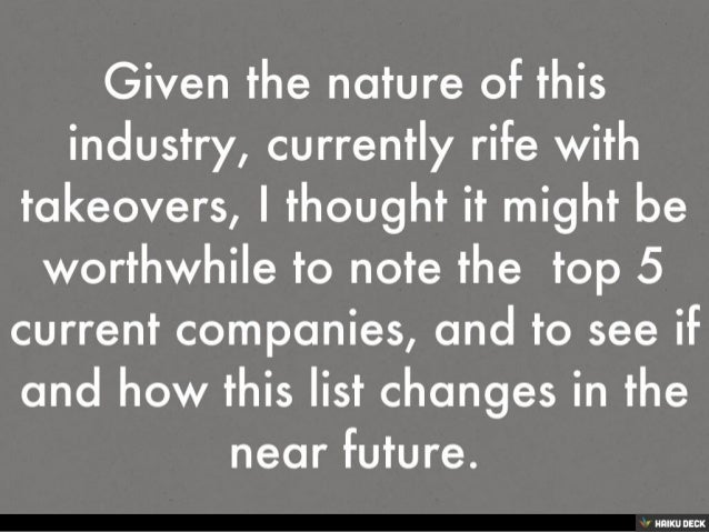 Top 5 Semiconductor Companies Slide 2