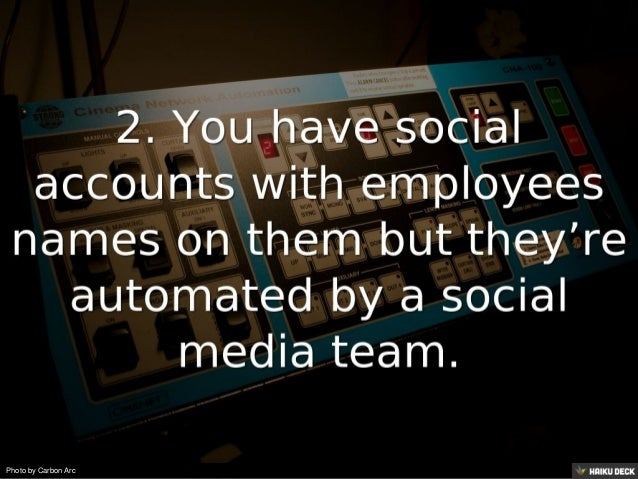 8 Signs a Company is doing Employee Advocacy Wrong! Slide 3