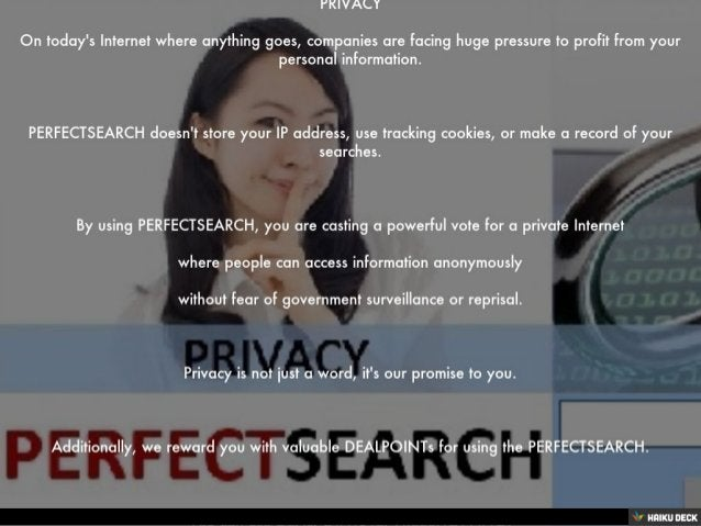 PRIVACY <br>On today's Internet where anything goes, companies are facing huge pressure to profit from your personal infor...