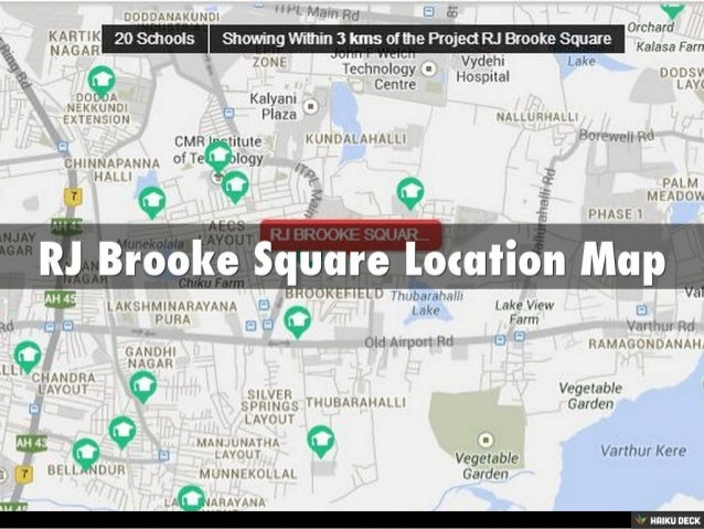 RJ Brooke Square 3BHK Villaments & 4BHK Villaments for sale in Kundalahalli, Bangalore