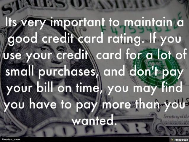Credit Card Use Slide 2