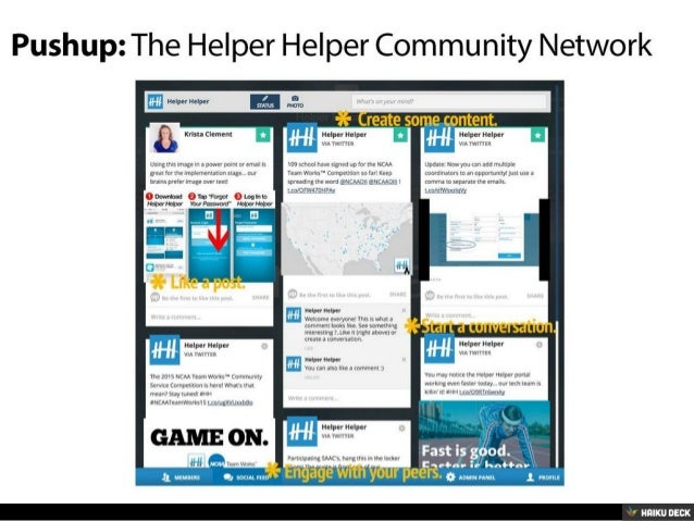 NCAA Team Works Community Service Competition: September Snapshot