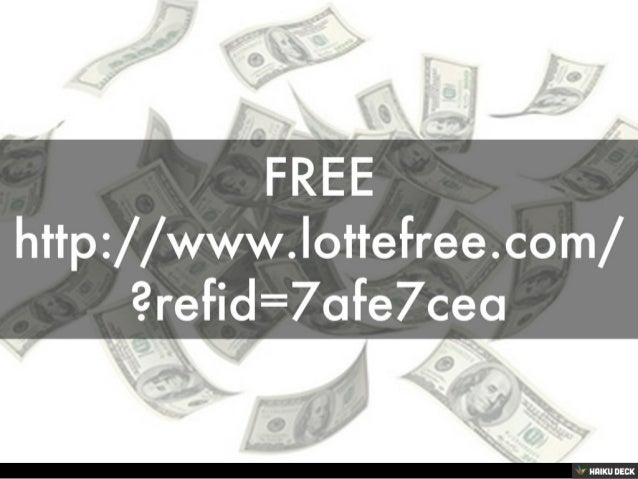 FREE<br>http://www.lottefree.com/?refid=7afe7cea<br>