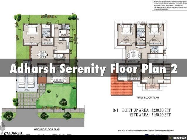 Adharsh Serenity 3BHK Villas & 4BHK Villas for sale in Whitefield, Bangalore Slide 3