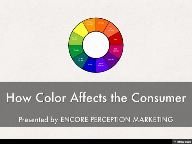 the effects of color in advertising Color psychology affects our lives in so many ways, yet we often don't realize the impact of our color choices on our website colors, on our stationery and packaging, in our retail store or office advertising and promotions.