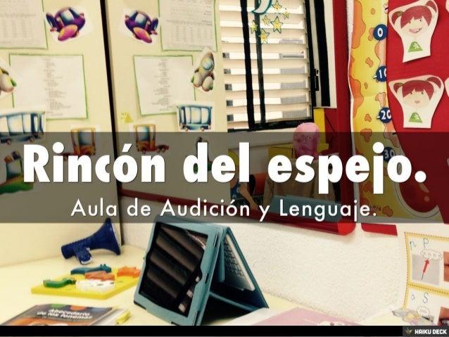 Mi aula de Audición y Lenguaje. Slide 3