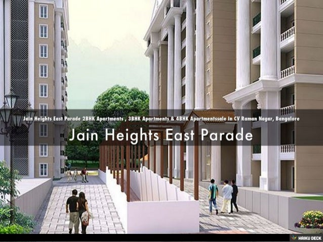 Jain Heights East Parade 2BHK Apartments , 3BHK Apartments ...