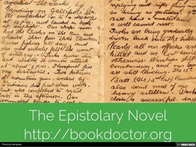 write epistolary essay To write a narrative essay, start by choosing an interesting personal story from your life to write about try to connect your story to a broader theme or topic so your essay has more substance then, write out your story in the past tense using the first person point of view.