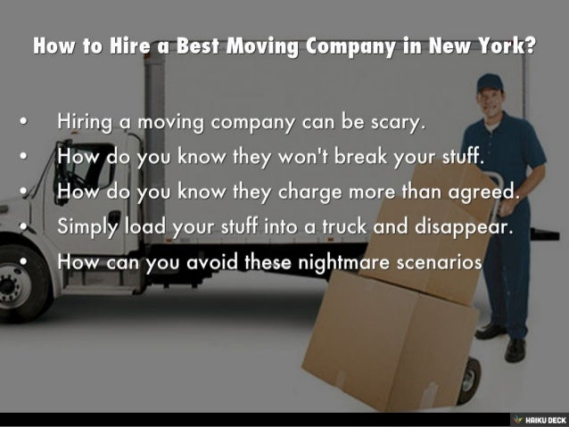 how to hire a best moving company in new york - How To Hire A Moving Company