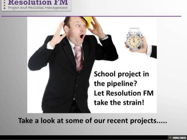 Resolution FM School Projects