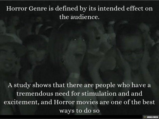 The Horror Genre Slide 2