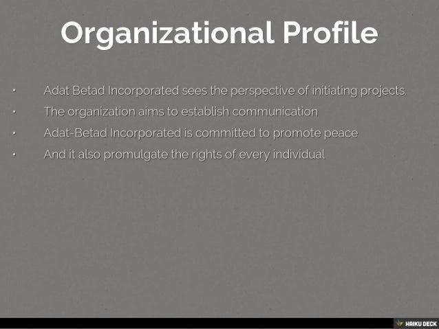 Adat - Betad, Inc. Slide 2