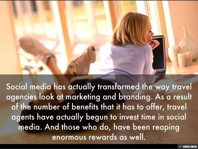 Why And How Travel Agents Should Use Social Media