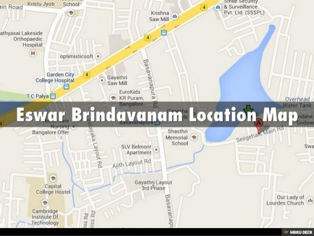 Eswar Brindavanam 2BHK Apartments & 3BHK Apartments for sale in KR Puram,Bangalore