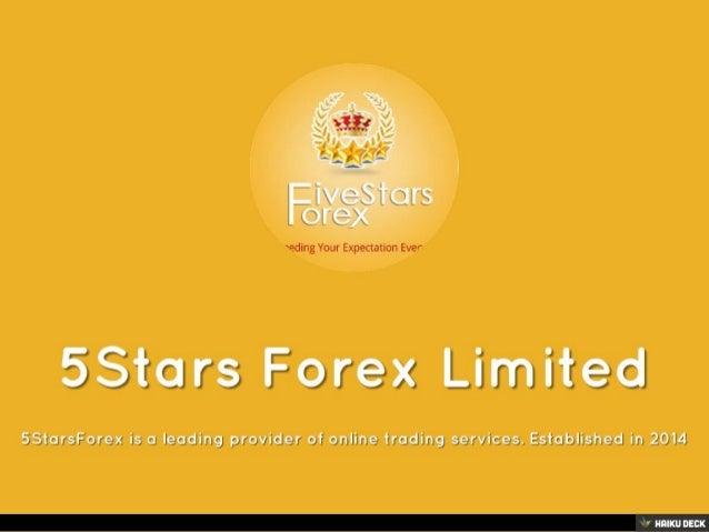 5Stars Forex Ltd – About Us – 5StarsForex Blog