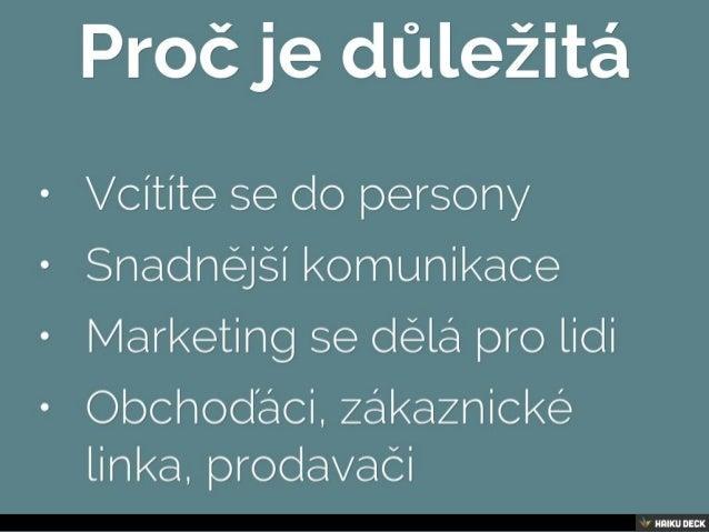 10x Persona pro vaše podnikání Slide 2