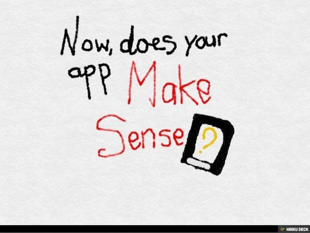 Your App's Design Should Not Be Innovative