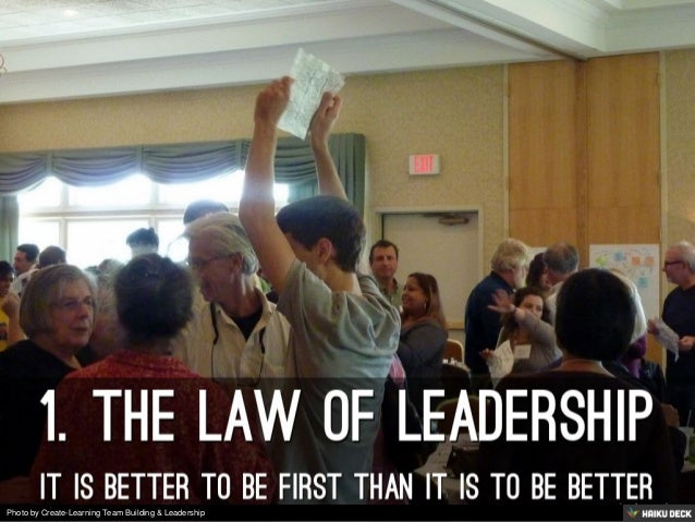 Photo by Create-Learning Team Building & Leadership