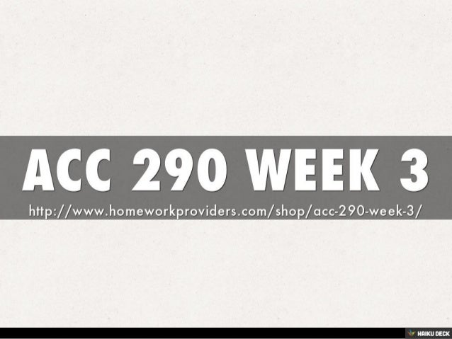 acc290 week 1 Acc 290 week 1 assignment financial statements paper write a 700- to 1,050-word paper in which you do the following: identify the four basic financial statements describe the purpose of each of the four financial statements discuss how the financial statements would be useful to internal users such as managers and employees.