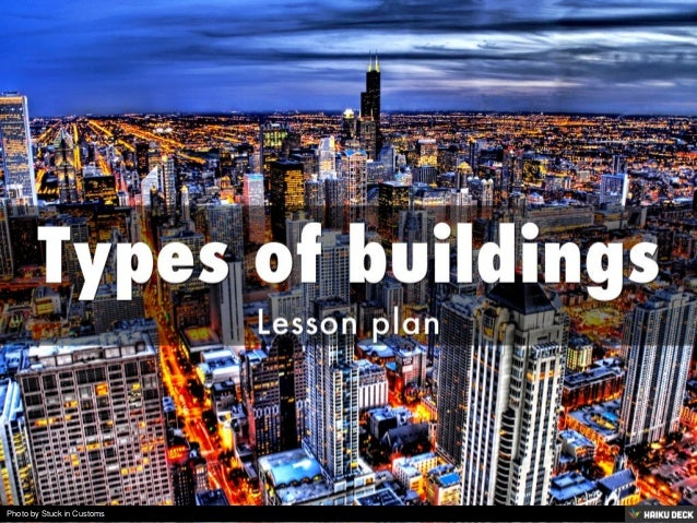 Types of buildings lesson plan for Types of building plans