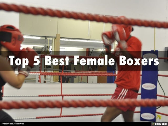 Top 5 Best Female Boxers<br>