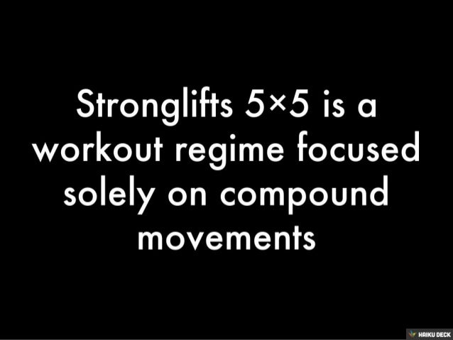 Stronglifts 5x5 Strength Training Workout Summary, Review