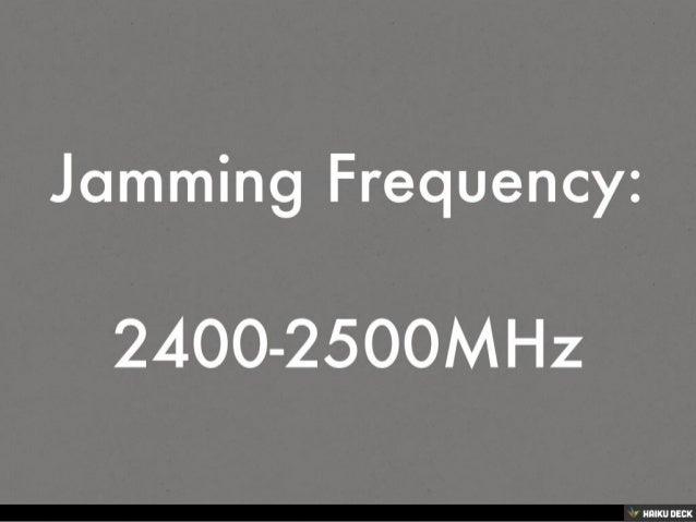 Wifi + Bluetooth + Wireless Spy Camera Jammer 10 Meters Slide 2