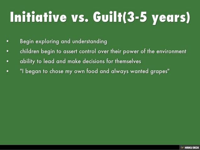 erik erikson initiative vs guilt