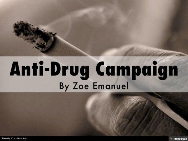 Anti-Drug Campaign