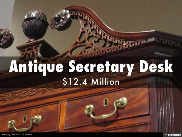 - World's Most Expensive Antiques