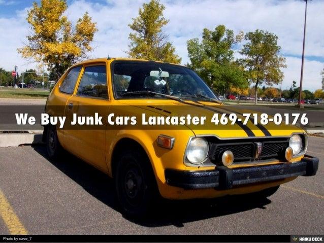 cash for cars lancaster tx 469 718 0176. Black Bedroom Furniture Sets. Home Design Ideas