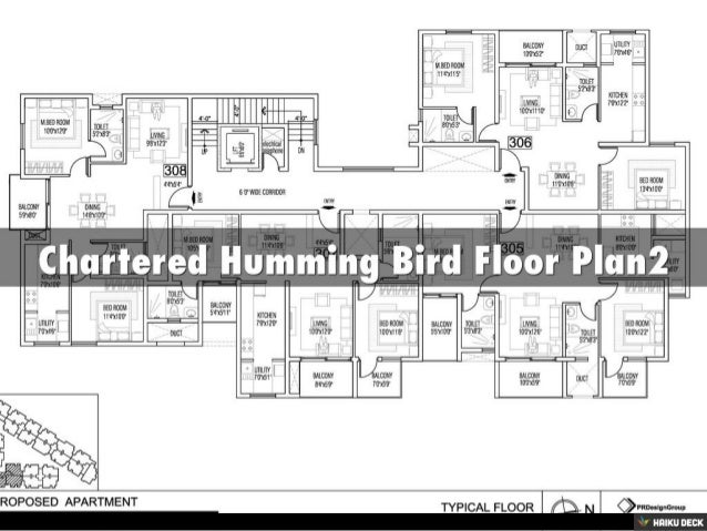 Chartered Humming Bird 2BHK Apartments & 3BHK Apartments for sale off Kanakapura Road, Bangalore