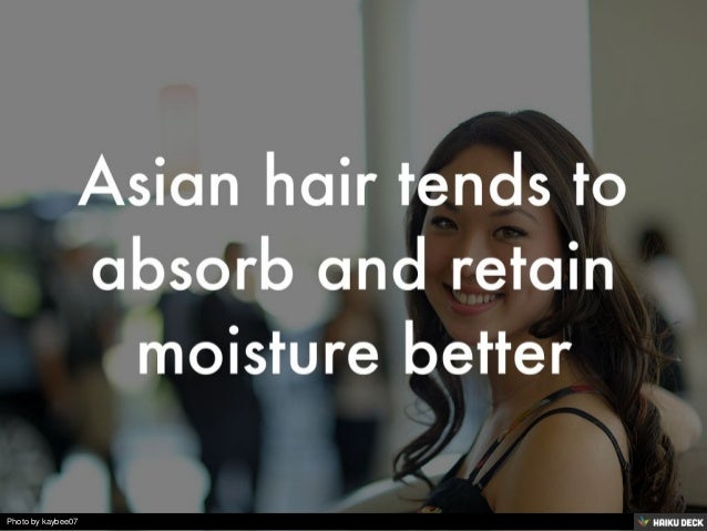 Amazing facts about Asian hair Slide 2