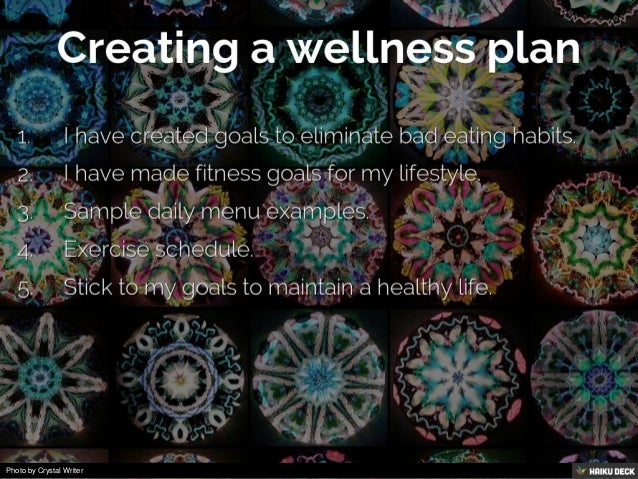 My Personal Wellness Plan