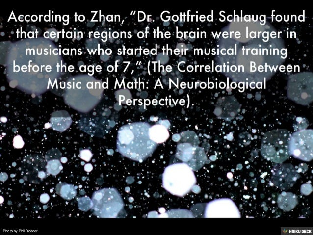 The connection between music and math for Motor age training connect