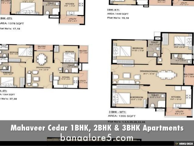 Mahaveer Cedar 1BHK, 2BHK & 3BHK Apartments Slide 3