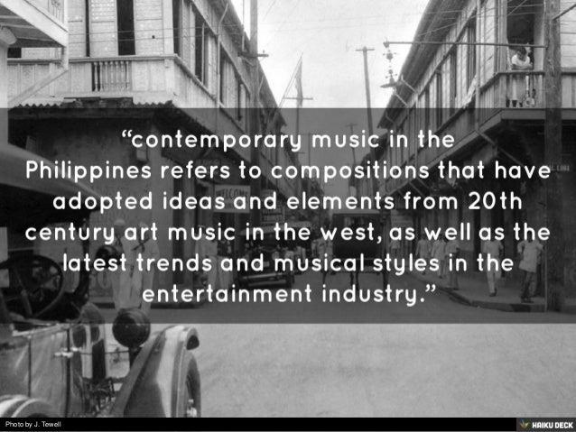 CONTEMPORARY PHILIPPINE MUSIC Slide 2
