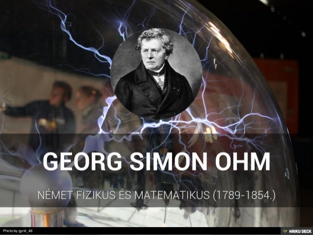 george simon ohms