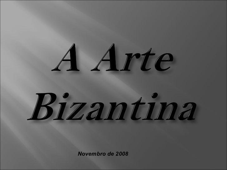Novembro de 2008