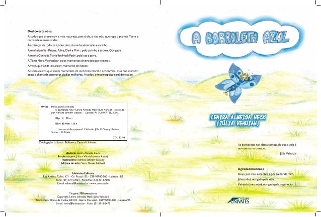 A borboleta-azul Slide 2