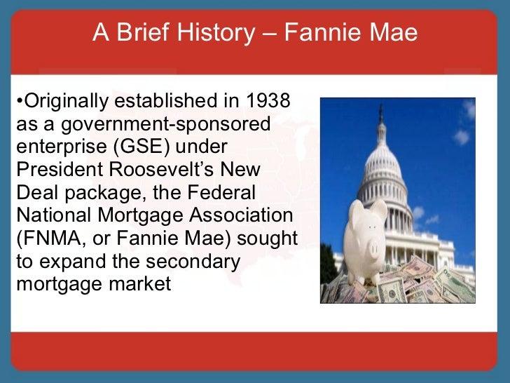 Fannie mae risk sharing deals