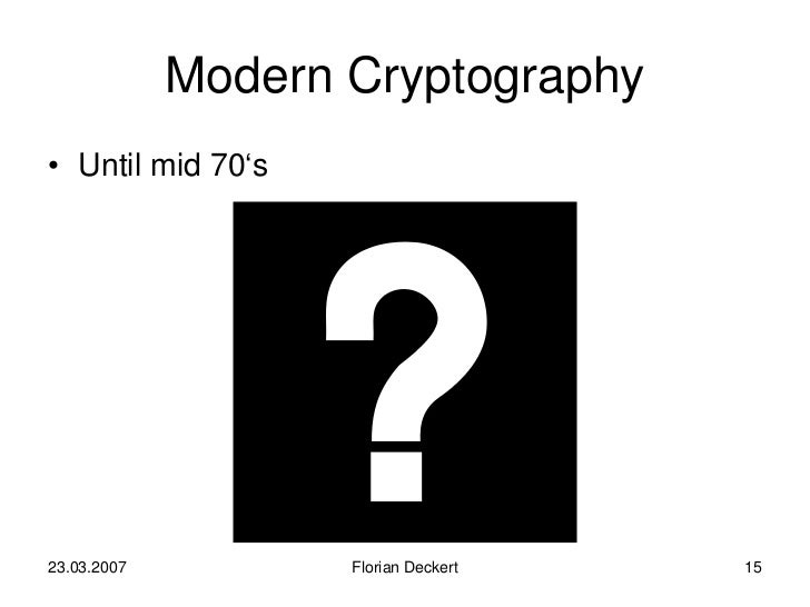 a brief history of cryptography essay History of education - essay example since the dawn of man, people have been educating younger generations in essential knowledge and skills the history of education is extensive and rich check the category for all pedagogy essay samples or review the database of free essay examples.