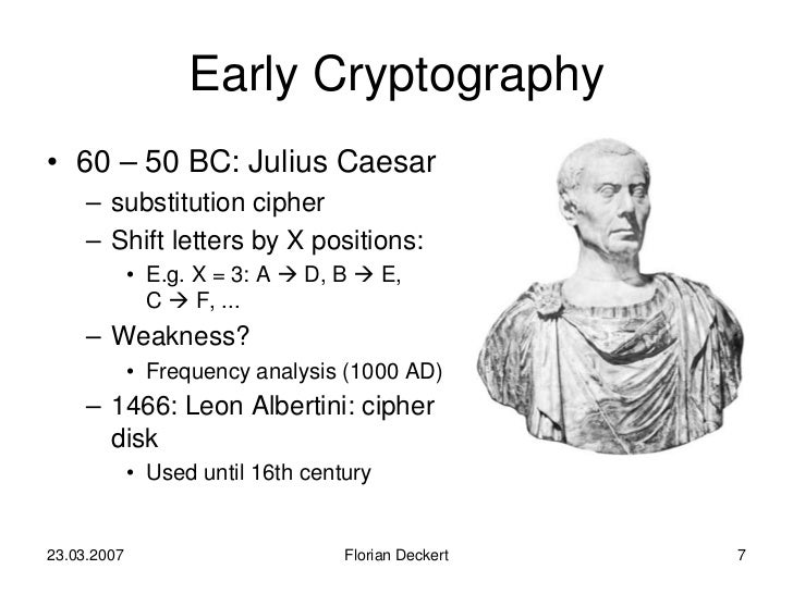 the history of cryptography Cryptography is the study and practice of secure communications between two parties usually in the presence of a malicious entity, known as the adversary more generally it is known as the creation and interpretation of protocols, which are digital rules of communication between two systems.