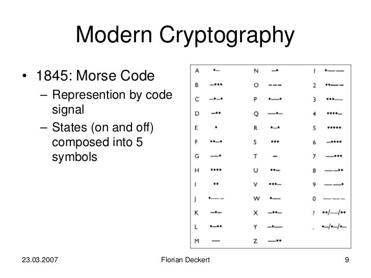 history of cryptography History and politics of cryptography cryptography has a long and interesting history, and has been the subject of considerable political controversy.