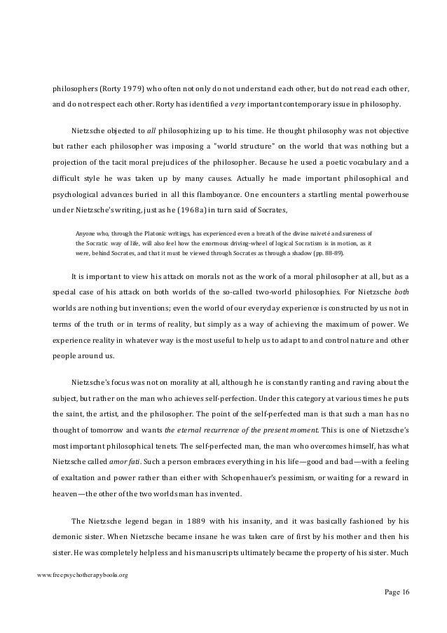 "ofhisworkwasunpublished.Hehimself,atthetimehewasstillsane,hadcharacterizedhissisteras""an anti-Semitic..."