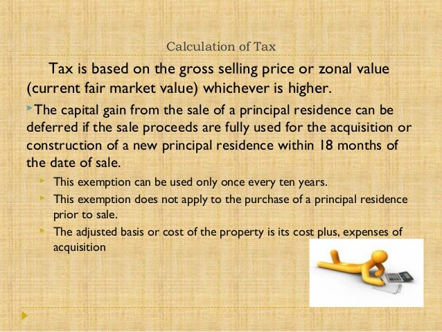 Buying Property In The Philippines Taxes