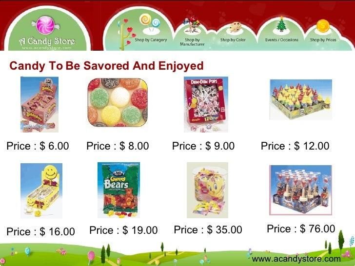 A Candy Store - Discount Bulk & Novelty Candy Wonderland
