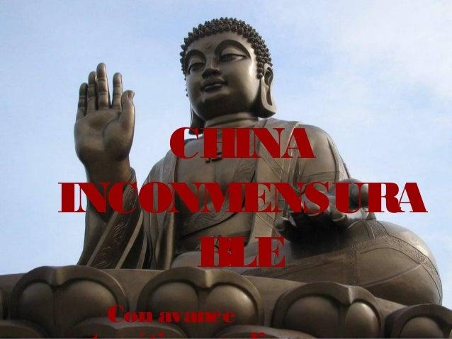 CHINA INCONMENSURA BLE Con avance