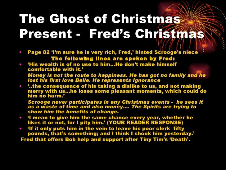 30 the ghost of christmas - Christmas Carol Quotes